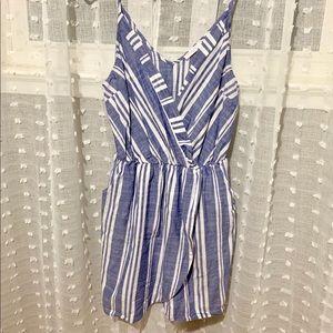 Lush striped dress